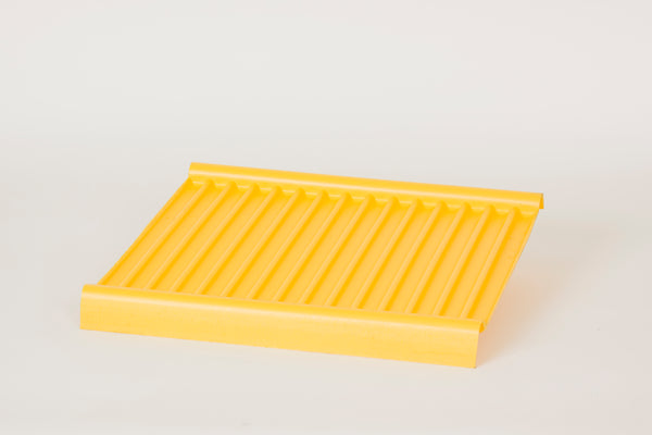 Shelves & Parts Poly Bottom Tray for 12, 16, 24 Gal Cabinets Yellow - Cabinet Accessories