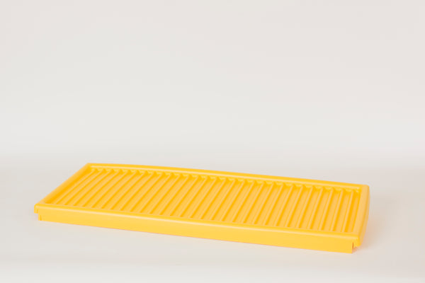 Shelves & Parts Poly Bottom Tray for CRA-30, CRA-32, CRA-45, CRA-47 & ADD-CRA Yellow - Cabinet Accessories