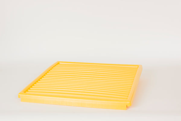 Shelves & Parts Poly Bottom Tray for CRA-60 & CRA-62 Yellow - Cabinet Accessories