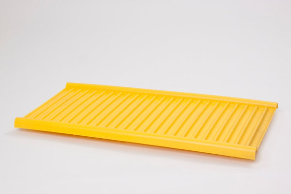 Shelves & Parts Poly Bottom Tray for CRA-70 & CRA-71 Yellow - Cabinet Accessories