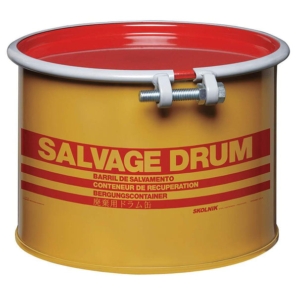 55 Gallon Steel Salvage Drum Model #HM5504