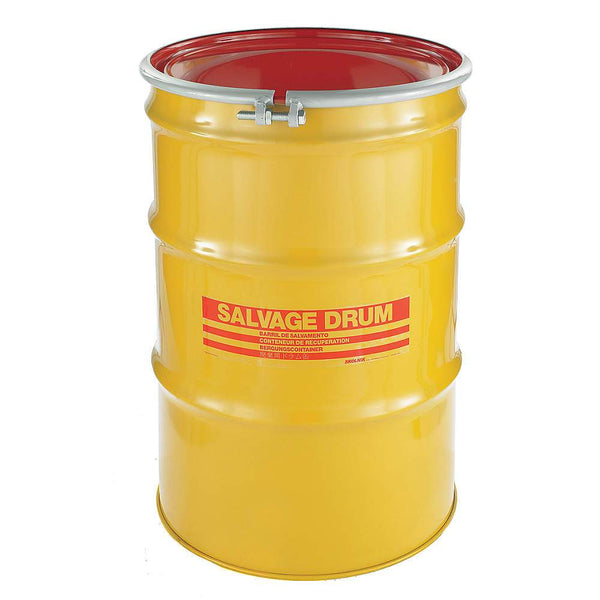 85 Gallon Steel Salvage Drum Model #HM8519