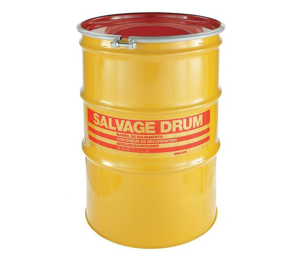 85 Gallon Steel Salvage Drum Model #HM8501