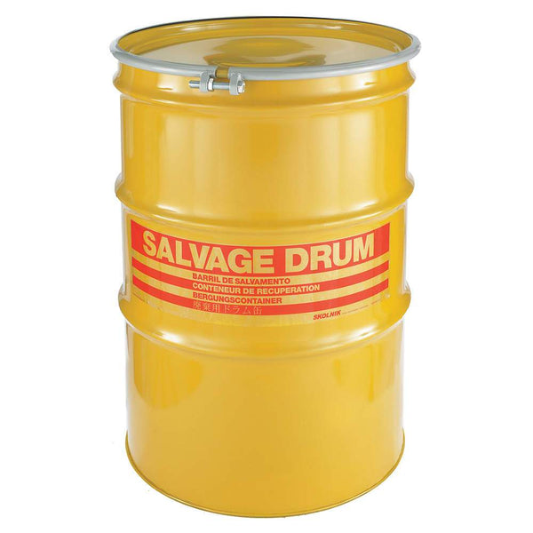 55 Gallon Steel Salvage Drum Model #HM5501