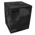 Polyethylene Quick Assembly Acid/Corrosive Safety Storage Cabinets Poly Cabinet Bench Top 1 Door, 2 Shelves, (Black), 4 gal