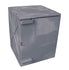 Polyethylene Quick Assembly Acid/Corrosive Safety Storage Cabinets Poly Cabinet Bench Top 1 Door, 2 Shelves, (Gray), 4 gal