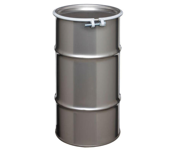 8 Gallon Open Head Stainless Steel Drum Model #ST0804