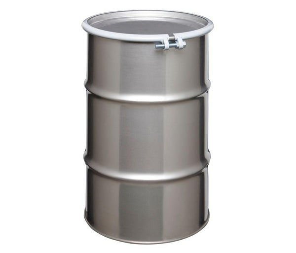 20 Gallon Tight Head Stainless Steel Drum Model #ST2003