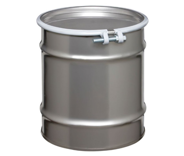 10 Gallon Open Head Stainless Steel Drum Model #ST1004