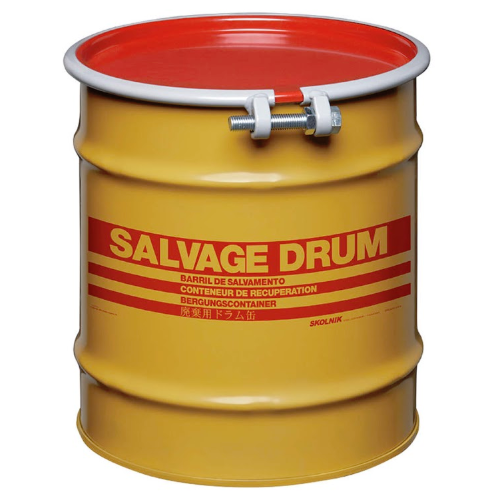 10 Gallon Steel Salvage Drum Model #HM1002