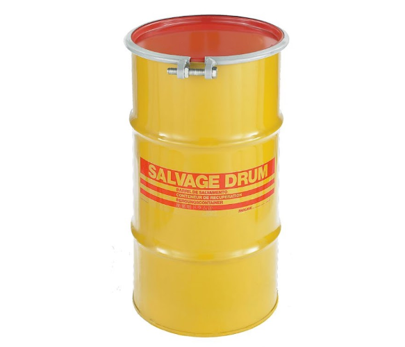 16 Gallon Steel Salvage Drum Model #HM1602
