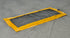 "SpillNest Drip Pad - 24""x54"" - Large-Yellow/Black"