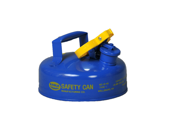 Type I Safety Cans - 2 Qt. Metal - Blue (Kerosene) - Safety Cans