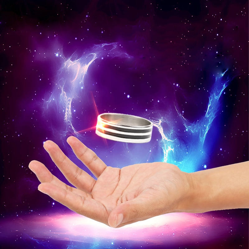 Magic Floating Ring Magic Tricks Play Ball Pen Floating Effect of Invisible Suit Powerful Magic Props Rings Toy