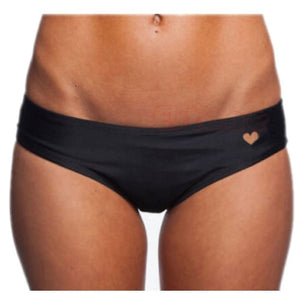 Fashion Solid Black Summer Sexy Women Heart CutOut TBack Thong Bikini Underwear Panties Briefs For Female