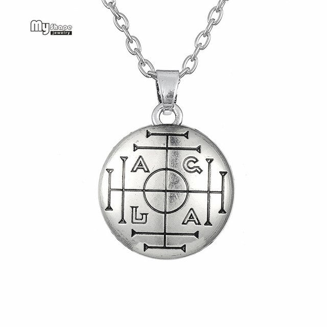 My Shape Talisman Choker Pentacle of Jupiter Necklaces Women Kabbalah Collares Solomon Seal Wicca Pendant Necklace Men Jewelry