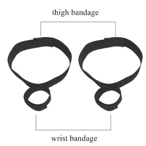 Bondage Handcuffs & Ankle Cuffs Kit BDSM Bondage Flirting Sex Toys For Adults Couples Slave Restraints Games Erotic Accessories