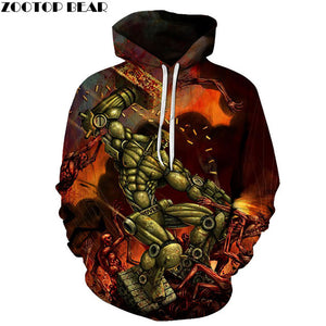 NEW Game Movie Men Hoodies 3D Print Witch Grotto Spring Pullover Sweatshirt Sleeves Casual Tracksuits Drop Ship Tops ZOOTOP BEAR