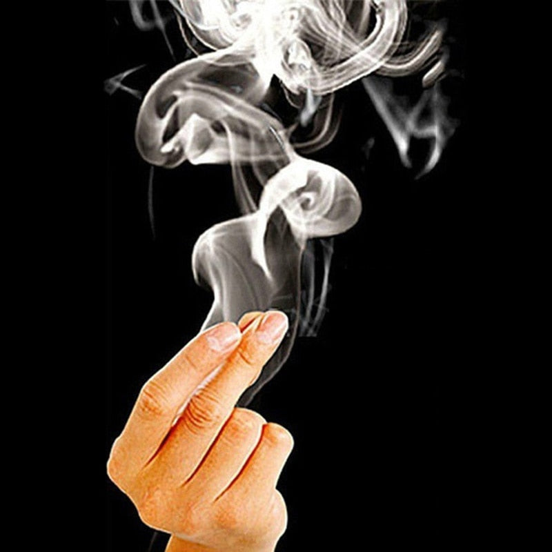 10 pcs Magic Smoke from Finger Tips Magic Trick Surprise Prank Joke Mystical Fun Magic Tricks toys for adult Dropshipping