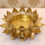 Lotus metal Urli | Home decor