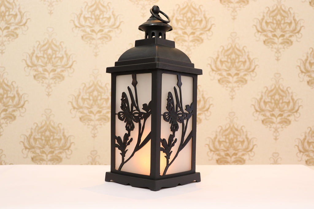 NEW DESIGN VINTAGE STYLE FIRE LANTERN | This lantern has a LED