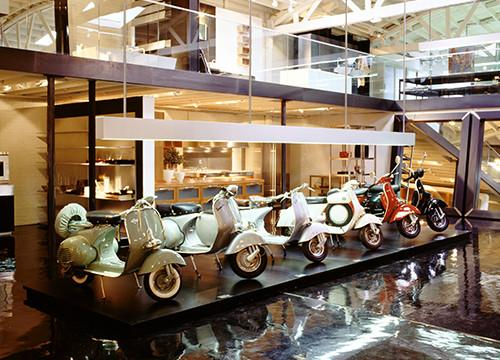 57 YEARS OF VESPA AT BOFFI