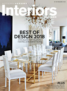 Modern Luxury - Interiors Chicago Best of Design 2018
