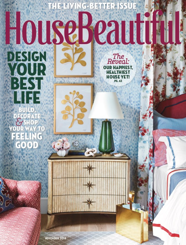 HOUSE BEAUTIFUL NOVEMBER 2018