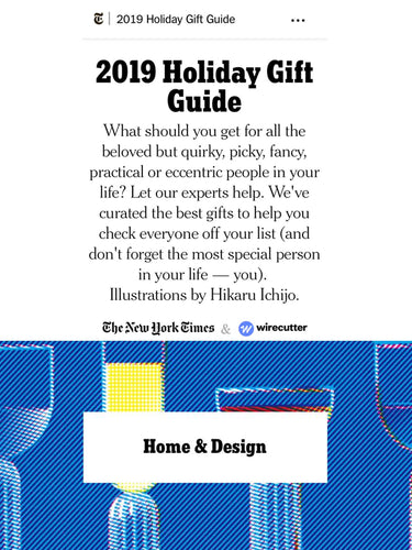 The New York Times - 2019 Holiday Gift Guide