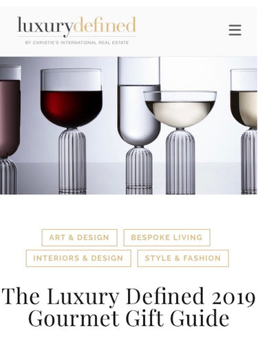 Luxury Defined Gourmet Gift Guide 2019