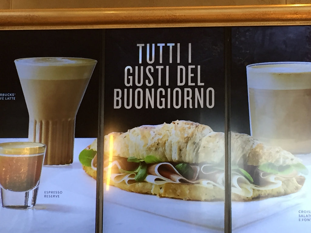 Starbucks Italy - Rila Glass - media board