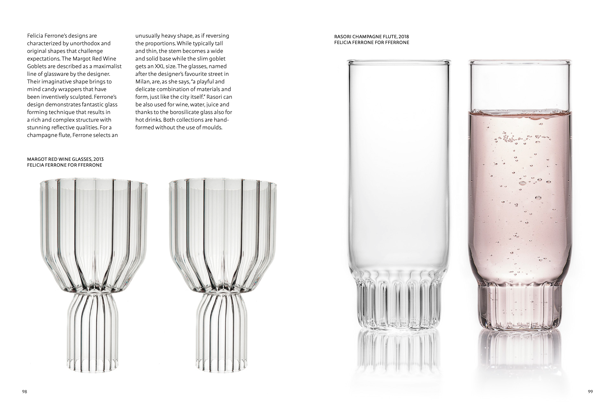 fferrone in designing transparency glass in modern design agata
