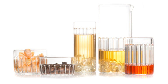 Bessho designer glassware collection by fferrone