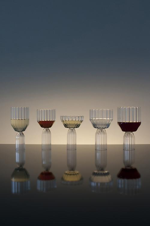 Margot glass wine collection