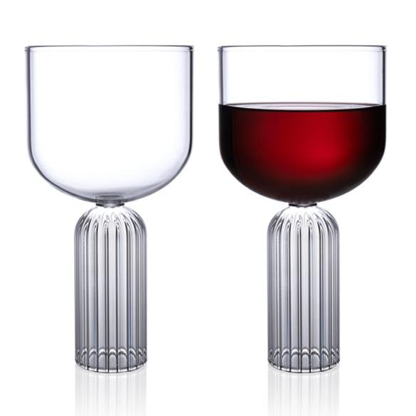 Luxury large wine or water glasses May Large glasses