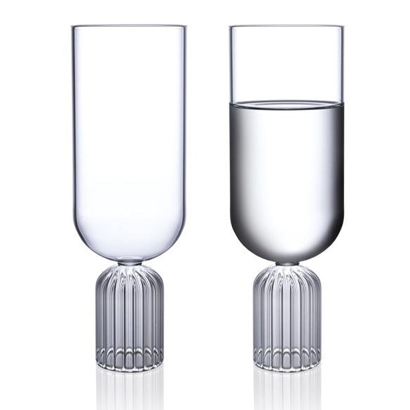 Designer stemware wine or water - may collection