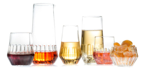 luxury mixed glassware collection fferrone europe