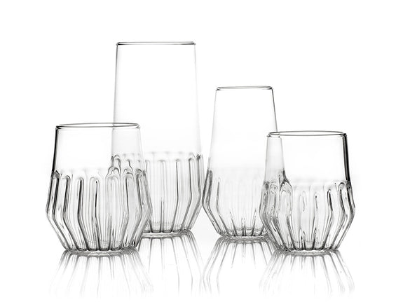 Mixed Large Glass - Set of 2