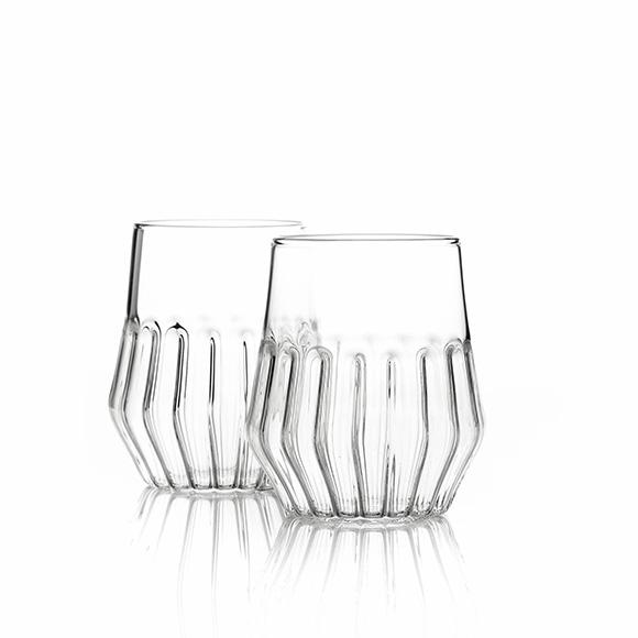 Mixed Medium Glass - Set of 2