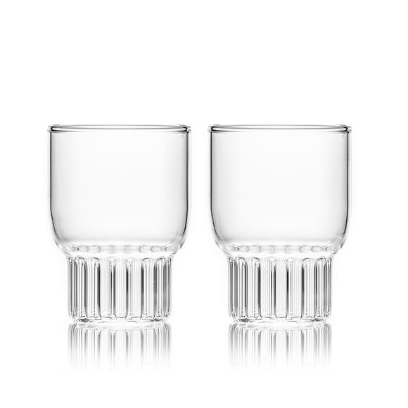 unique rasori medium glasses - designer glassware tableware