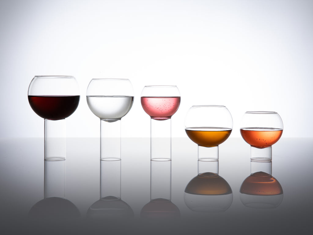 designer Tulip collection glassware - fferrone