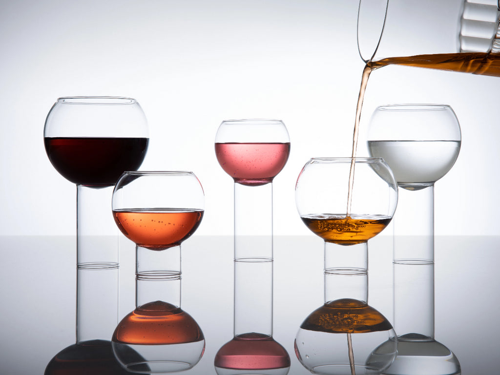 Luxury designer Tulip collection glassware - fferrone
