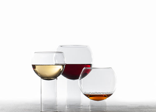 tulip collection glassware