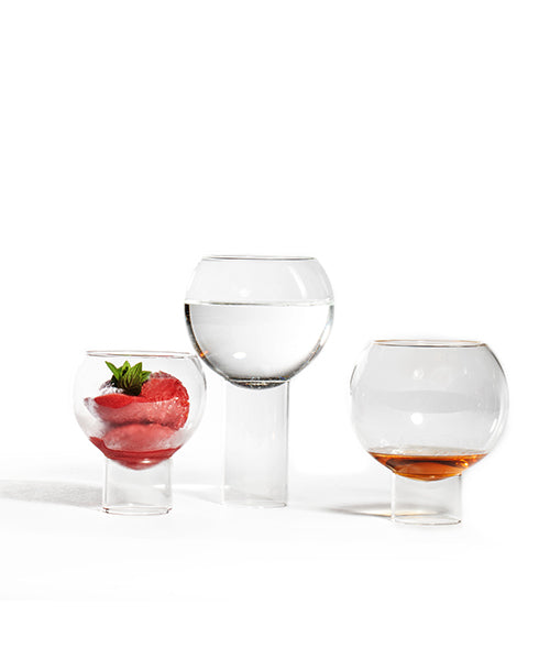 versatile glasses from wine to dessert