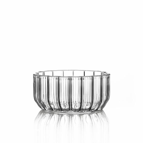 glass serving bowl fferrone design