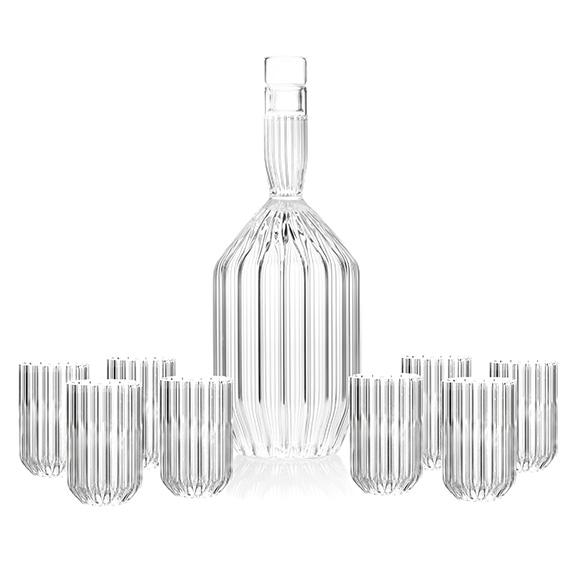 Margot Decanter and Dearborn Mini Glasses Set