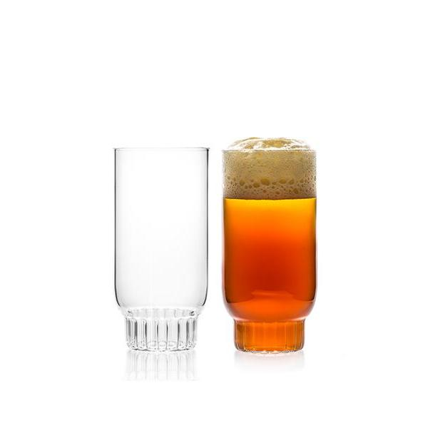 designer glass to serve beer and cocktails - rasori collection