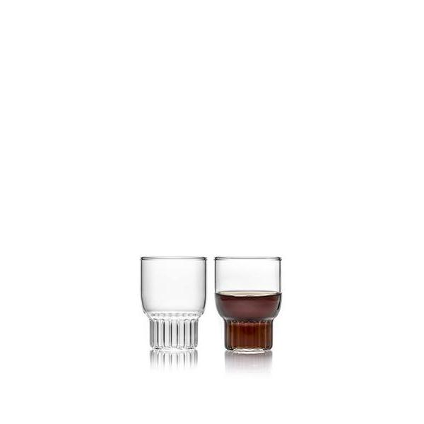 Rasori mini glasses perfect for espresso or shots