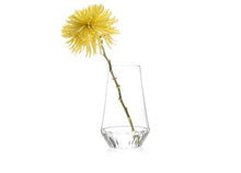rossi flower vase glass