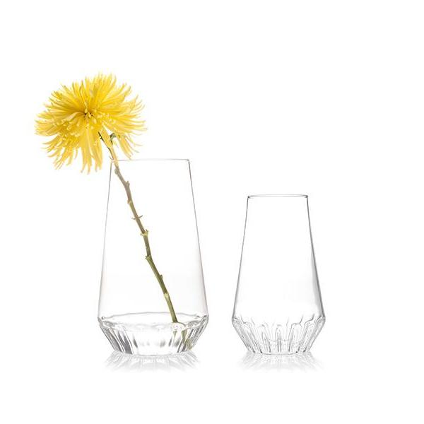 Large and Medium Rossi Glass Vases fferrone